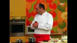 Салат из брокколи с миндалем