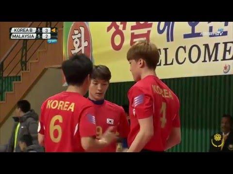 KOREA B vs MALAYSIA 3set