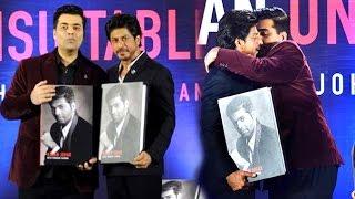 Shahrukh Khan Launching A Book On Karan Johar's Life 'An Unsuitable Boy' Full Video HD thumbnail