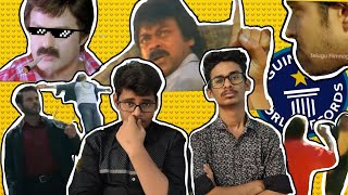 Funny & Cringy Tollywood movies action scenes || BEING IDIOT ||