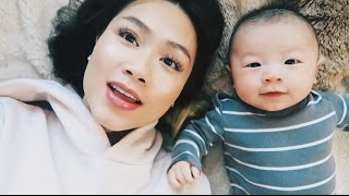 A Day In The Life With A Newborn | HAUSOFCOLOR