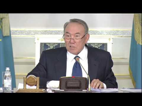 Видео пресс-службы Президента РК
