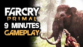 FAR CRY 5 PRIMAL Gameplay Walkthrough #1: 9 Minutes of Combat, Free Roam and Map Size Tease