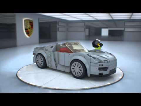 75910 porsche 918 spyder lego speed champions youtube. Black Bedroom Furniture Sets. Home Design Ideas
