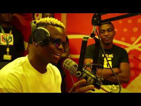 Harmonize Live Interview In Kenya - Part 1