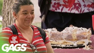Crazy Granny Ruins Piñata Party Prank! - Just For Laughs Gags