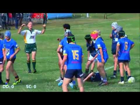 U'14 Rep Rugby || Trial Game 1 || Darling Downs vs Sunshine Coast