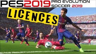 Pes 2019 licences - fifpro, bundesliga, brazilian, premier league limit etc.