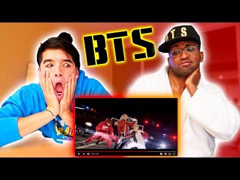 REACTING to BTS Mic Drop! (MV)
