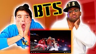 REACTING to BTS Mic Drop! (MV)