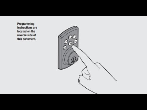 Manual / Instructions / User Guide for Kwikset 907