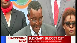 Chief Justice David Maraga: Budget cut to affect operations of the Judiciary