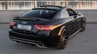 The LAST AUDI WITH SOUL? AUDI RS5 V8 4.2 - Details of the future icon (450hp,V8 NA, black/red)