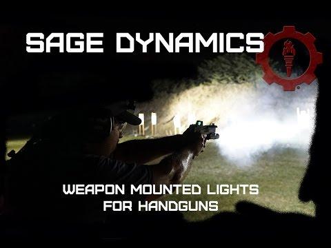Weapon Mounted Lights on Handguns