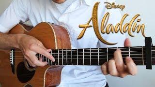 Speechless - Naomi Scott - Aladdin (Fingerstyle Guitar Cover)