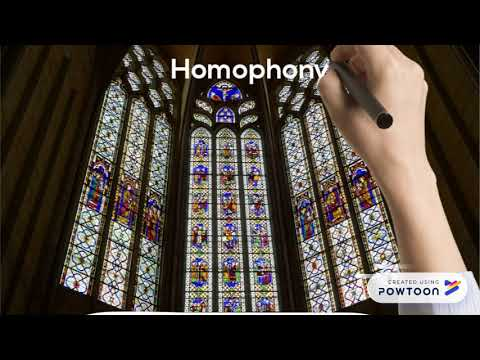 Monophony, Homophony, Polyphony