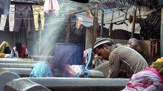 Inside Mahalaxmi Dhobi Ghat (Mumbai's largest open air laundry)