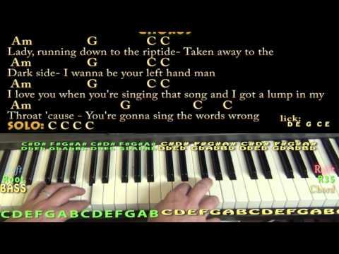 Riptide (Vance Joy) Piano Cover Lesson with Chords/Lyrics - YouTube