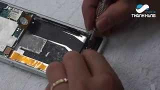 Hướng dẫn thay màn hình cảm ứng, mặt kính Sony Xperia Z