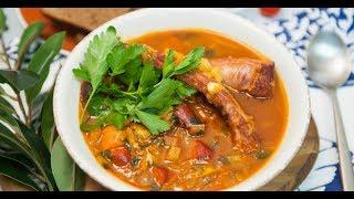 Пивной суп с копчёностями | Суповарение