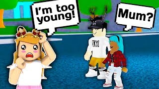 I AM NOT READY TO BE A MOM YET // Roblox Bloxy Town // Roblox Roleplay // Roblox Adopt