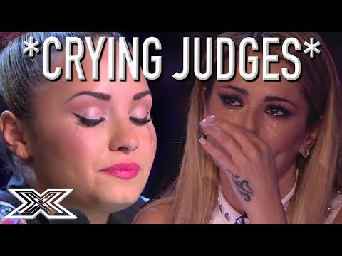 *CRYING JUDGES* Super Emotional Auditions Have X Factor Judg