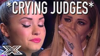 SUPER EMOTIONAL Auditions Have X Factor Judges In TEARS CRYING JUDGES