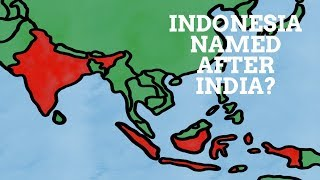 Is Indonesia Named After India?