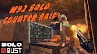 Solo Counter Raid | Rust Solo Survival - Gun Hoarder: Part 3