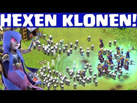 HEXEN KLONEN! || CLASH OF CLANS || Let's Play CoC [Deutsch/German HD+]