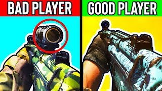 GOOD vs BAD PLAYERS IN MODERN WARFARE - BEST TIPS TO IMPROVE AT COD MW