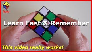 How to Solve a Rubik's Cube - Learn in 14 Minutes & Remember! thumbnail