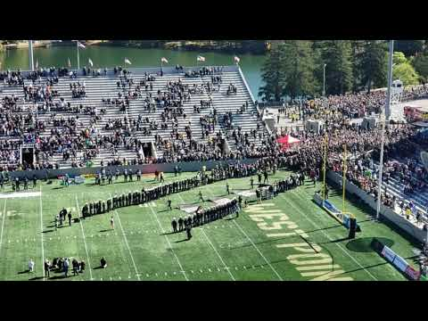 Army Football Team Entrance For Tulane Game