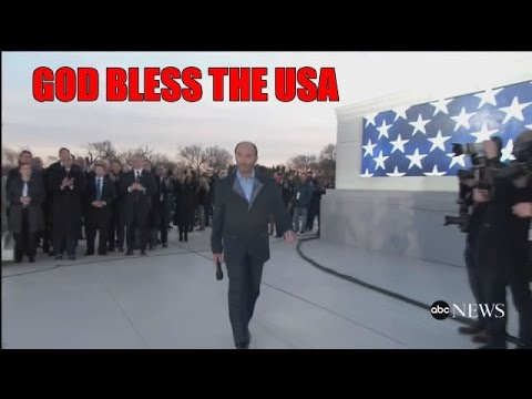 LEE GREENWOOD GOD BLESS THE USA TRUMP INAUGURATION