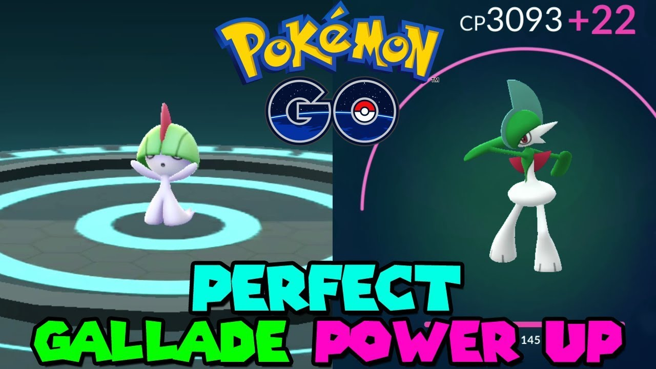 Gallade max CP for all levels - Pokemon Go