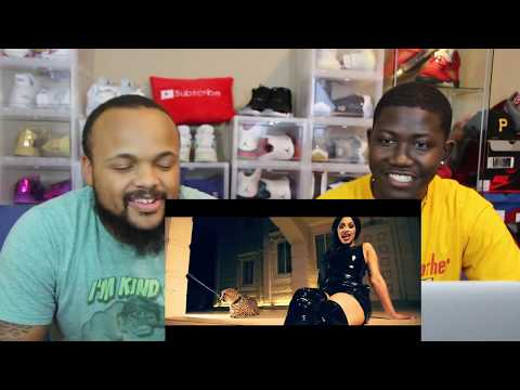 Cardi B - Bodak Yellow [OFFICIAL MUSIC VIDEO] -REACTION