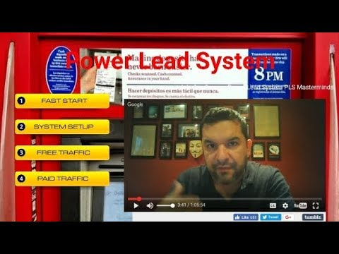 Power Lead System Review 2017 How To Make Money Online Using Lead Lightning