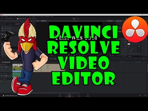 HOWTO - DaVinci Resolve - Powerful FREE Video Editing