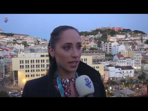 Eurovision 2018 - Interview Elina Nechayeva - Estonia