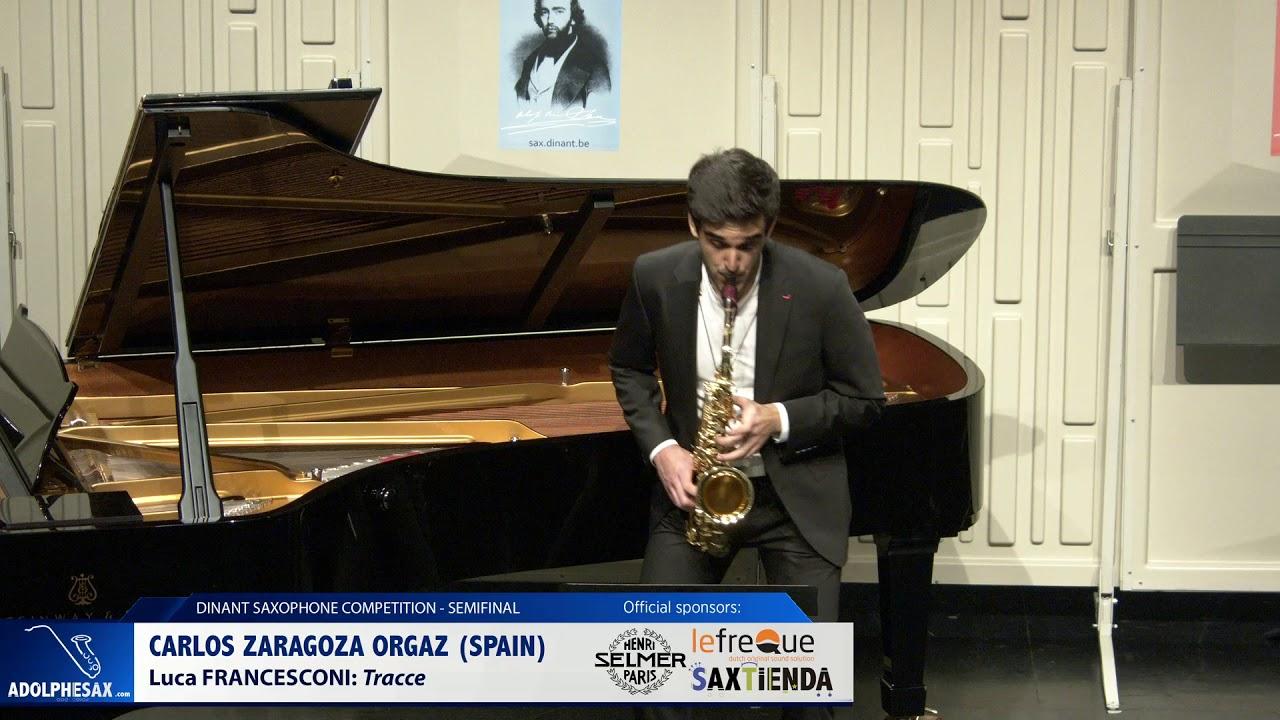 Carlos Zaragoza Orgaz (Spain) - Tracce by Luca Franscesconi (Dinant 2019)