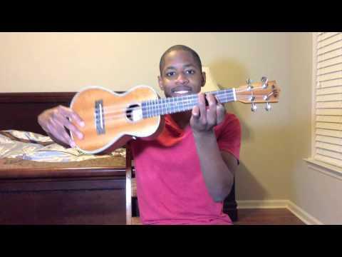 Drunk in Love - Beyonce ft. Jay-Z (ukulele tutorial)