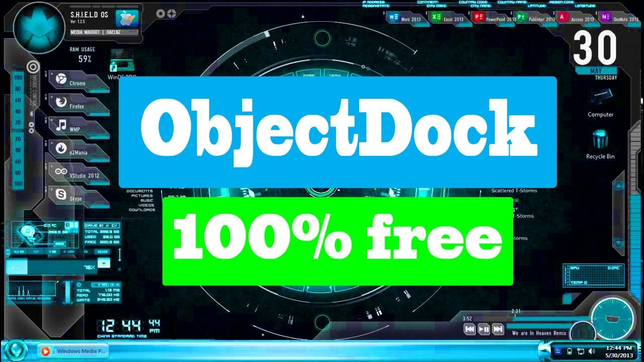 objectdock 2.20 crack free download