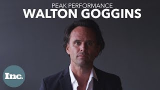 How Walton Goggins Approaches Every Role | Peak Performance
