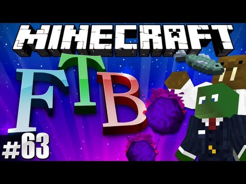 Minecraft Feed The Beast #63 - Hunting Skelly Souls