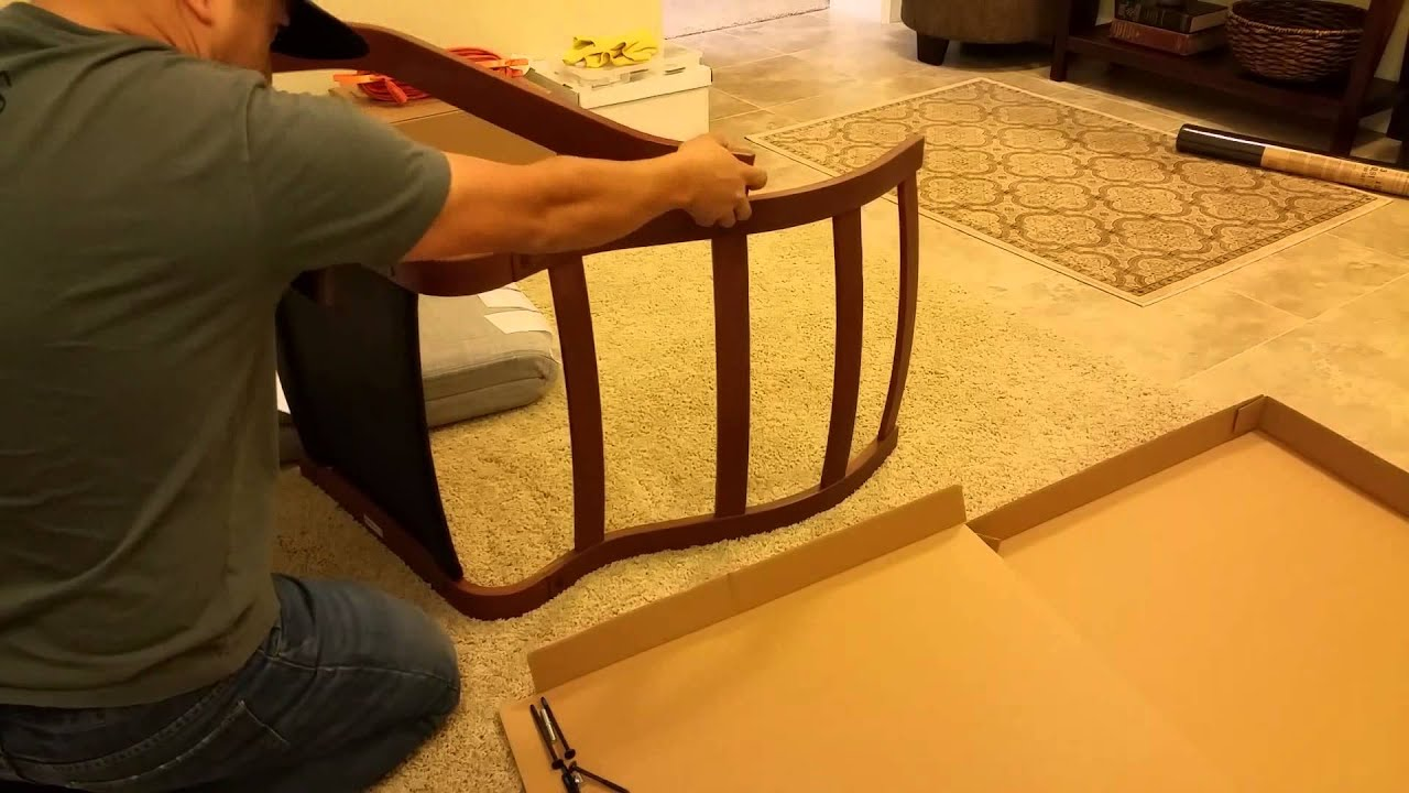 Ikea Poang Chair  How to Assemble & Review!  YouTube