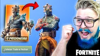 I RELEASED THE SECRET SKIN OF SEASON 7-FORTNITE