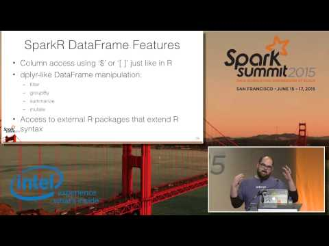 A Data Frame Abstraction Layer for SparkR