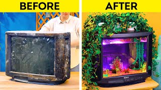 Don't throw away old stuff. Give it the second chance!