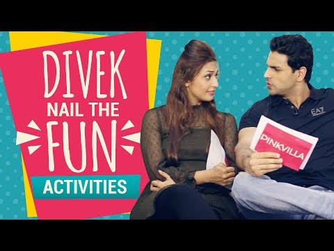 Divyanka Tripathi - Vivek Dahiya nail the fun activities with Pinkvilla | Interview | Pinkvilla