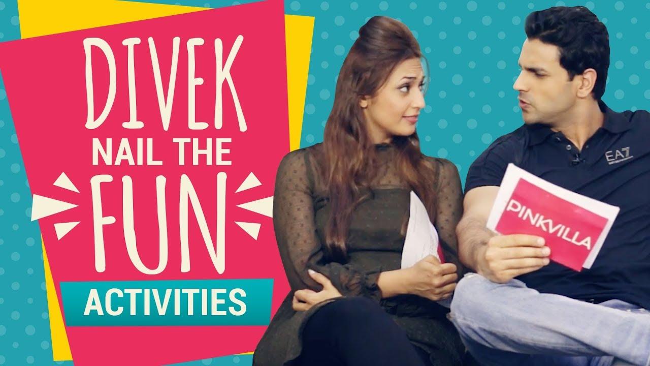 Divyanka Tripathi - Vivek Dahiya nail the fun activities with Pinkvilla | Interview | Pinkvilla